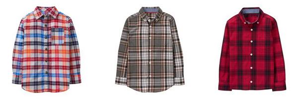 moda infantil - camisa xadrez