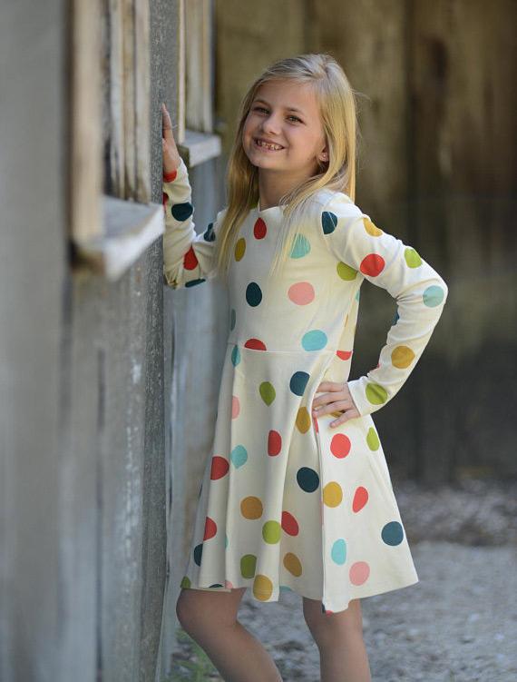 moda infantil vestido