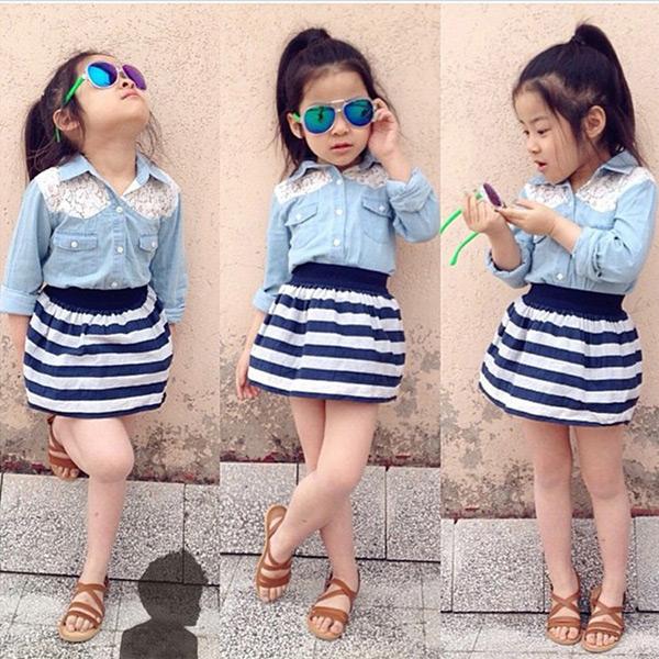 moda para menina