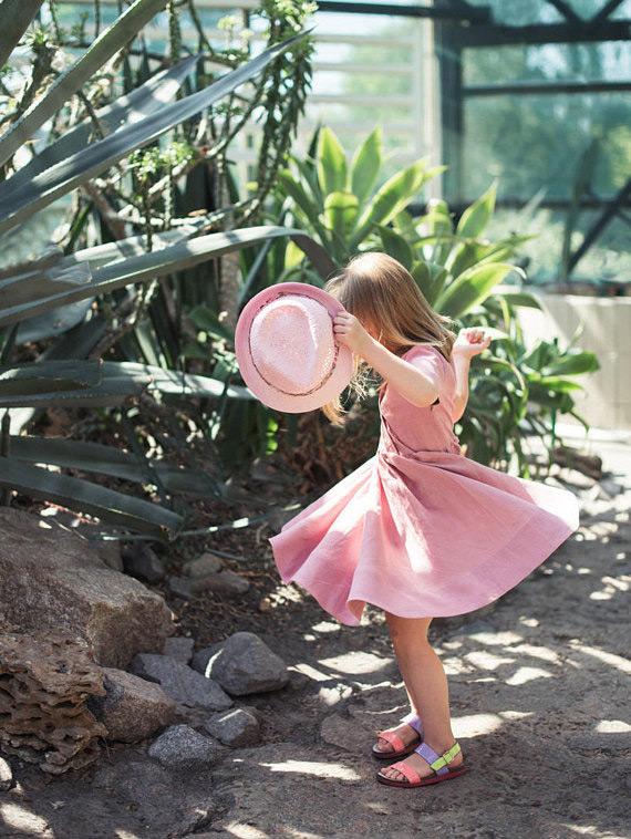 moda roupa infantil vestido