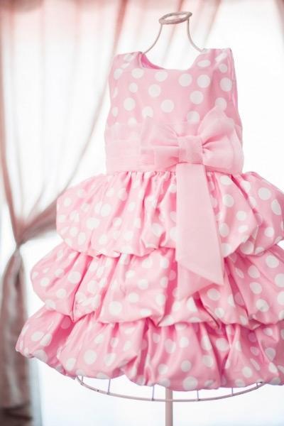moda infantil - vestido balonê
