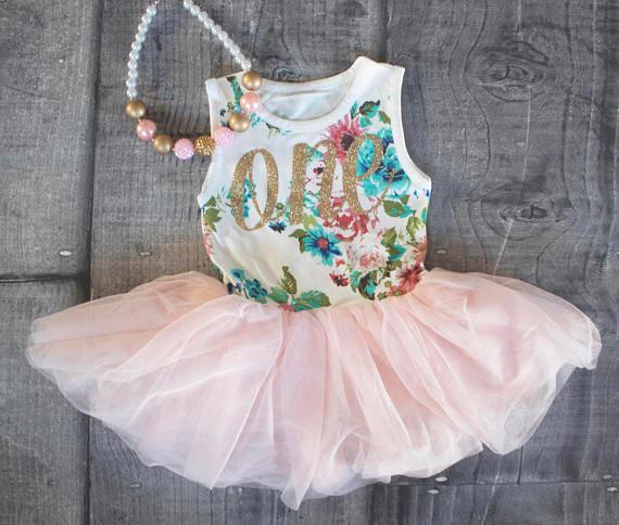 Vestido de bebê 1 ano