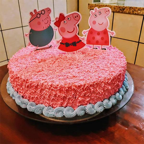 Bolo Peppa Pig