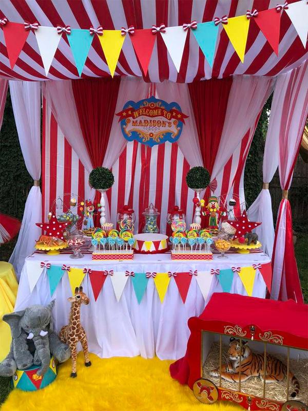 Ideias de lembrncinhas para festa tema circo